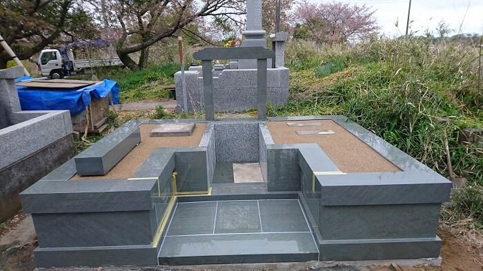 墓石 本小松石墓石 2018050612