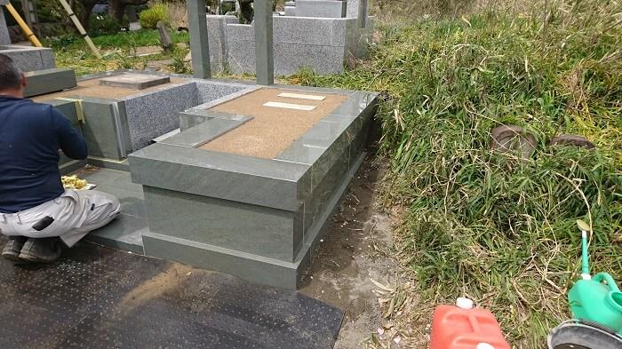 墓石 本小松石墓石 2018050611