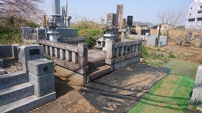 墓石 本小松石 和型墓石 2018050302
