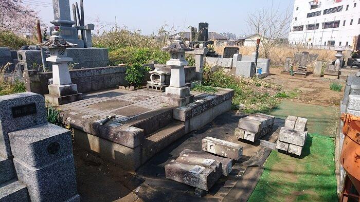 墓石 本小松石 和型墓石 2018050303