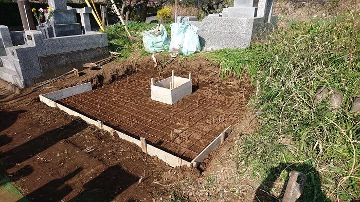 墓石 本小松石 和型墓石 20180510