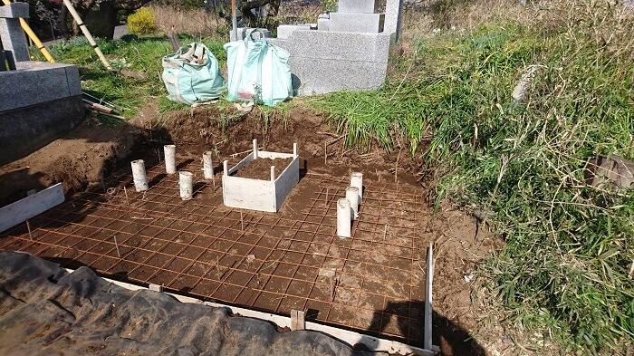 墓石 本小松石 和型墓石 20180511