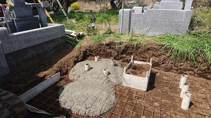 墓石 本小松石 和型墓石 20180512