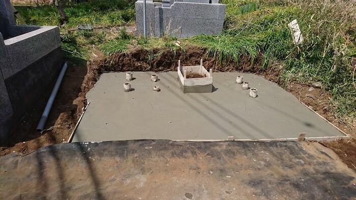 墓石 本小松石 和型墓石 20180515