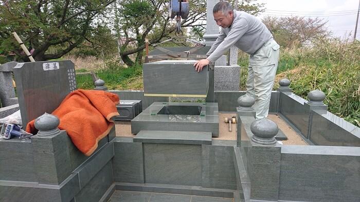 墓石 本小松石墓石 和型墓石 201806016