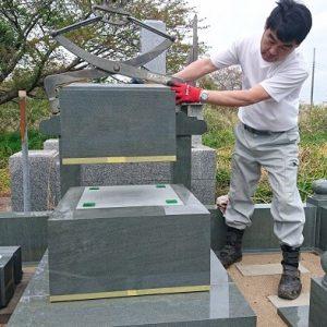 墓石 本小松石墓石 和型墓石 2018060105