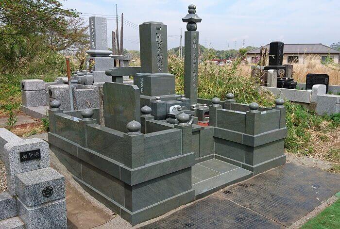 墓石 本小松石墓石 和型墓石 2018060112