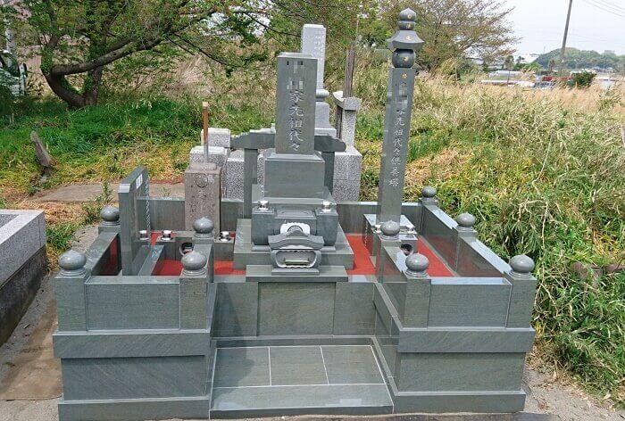 墓石 本小松石墓石 和型墓石 2018060113