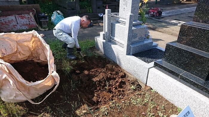 墓石 本小松石 和型墓石 2018081102