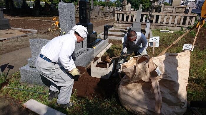 墓石 本小松石 和型墓石 2018081103