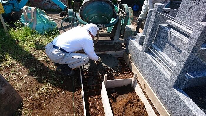 墓石 本小松石 和型墓石 2018081104