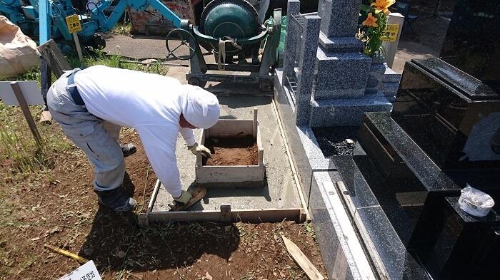 墓石 本小松石 和型墓石 2018081105