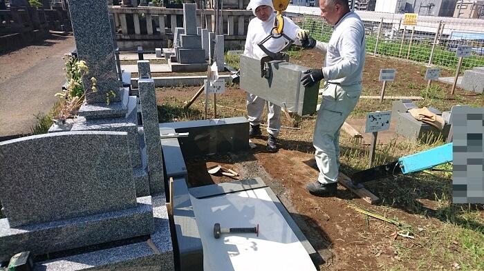 墓石 本小松石 和型墓石 2018081107