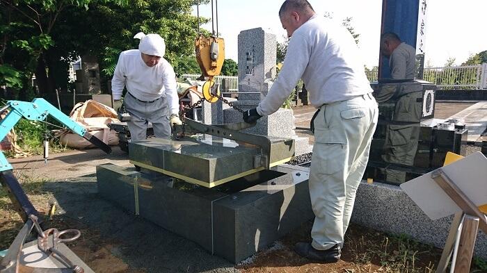 墓石 本小松石 和型墓石 2018081110
