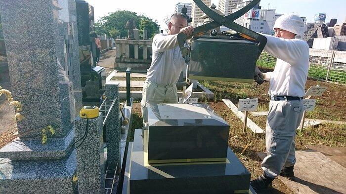 墓石 本小松石 和型墓石 2018081113