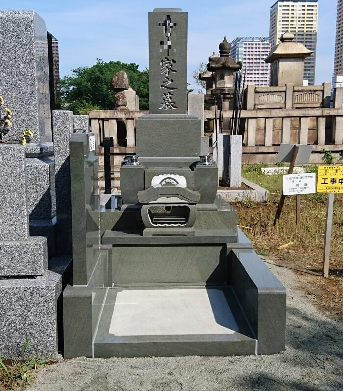 本小松石 墓石 国産 2018080805