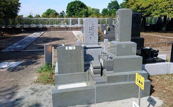 墓石 本小松石 和型墓石 2018081115