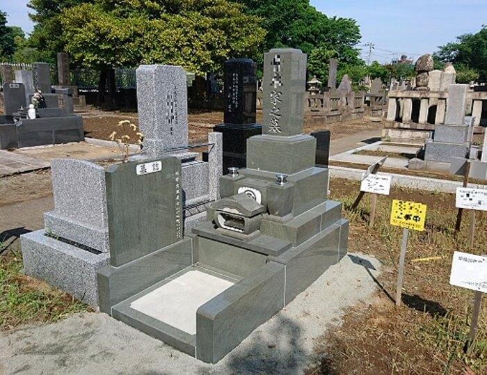 墓石 本小松石 和型墓石 2018081116
