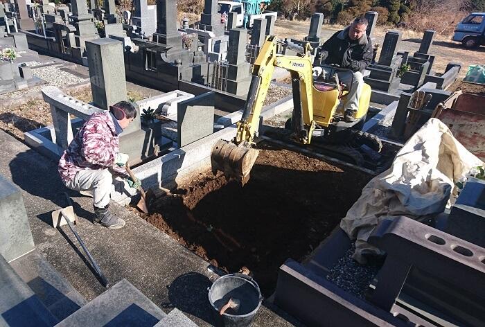 本小松石墓石 和型墓石 2019011302