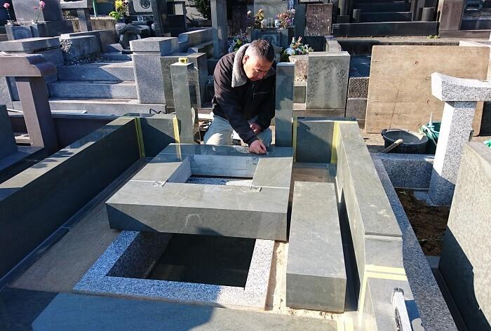 本小松石墓石 和型墓石 2019011316
