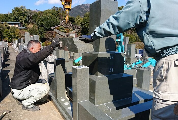 本小松石墓石 和型墓石 2019011320