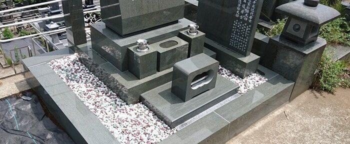 本小松石 洋型墓石