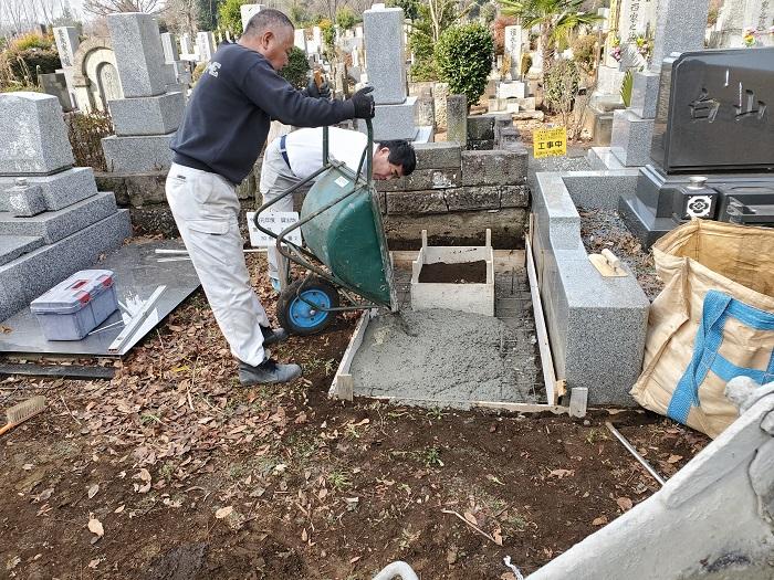 本小松石 大トロ 小松石 墓石 60