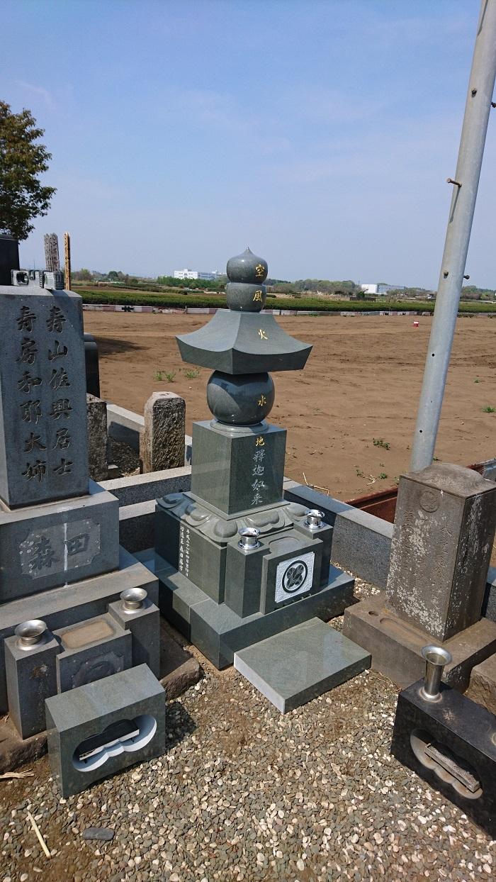 本小松石 小松石 墓石 五輪塔 2020.5.26 3